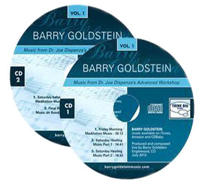 Music from Dr Joe Dispenza's Advanced Workshop Vol. 1 by Barry Goldstein (Music Compilation CD)