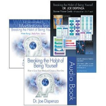 Breaking the Habit of Being Yourself Introductory Bundle by Dr Joe Dispenza  (Audiobook)