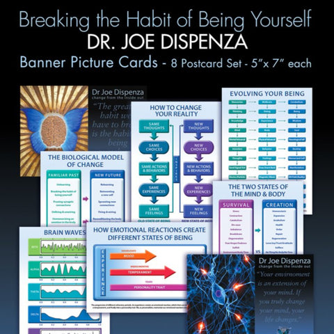 Dr Joe Dispenza Breaking the Habit of Being Yourself Picture Cards