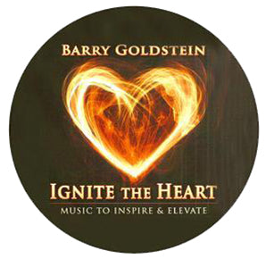 Ignite the Heart by Barry Goldstein (Music Compilation CD)