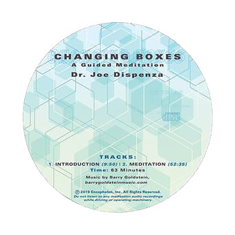 Changing Boxes by Dr Joe Dispenza (Meditation CD)