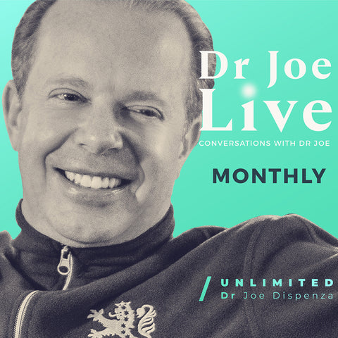 Dr Joe Live Membership - English - Monthly