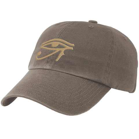 Unisex Eye of Horus Twill Cap