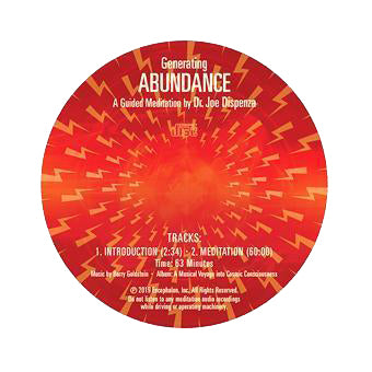 Generating Abundance by Dr Joe Dispenza (Meditation CD)