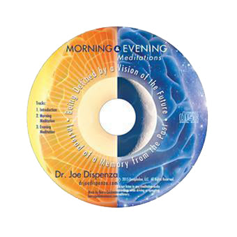Morning and Evening Meditations by Dr Joe Dispenza (Meditation CD)
