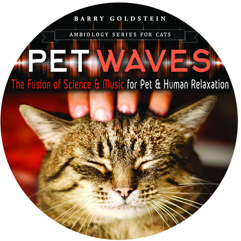 Ambiology Pet Waves for Cats by Barry Goldstein (Music Compilation CD)