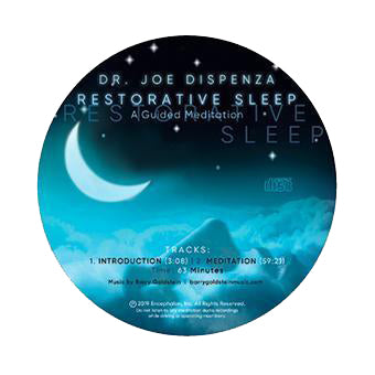 Restorative Sleep by Dr Joe Dispenza (Meditation CD)