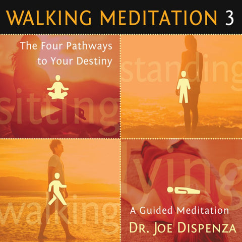 Walking Meditation 3: The Four Pathways to Your Destiny by Dr Joe Dispenza (Meditation)