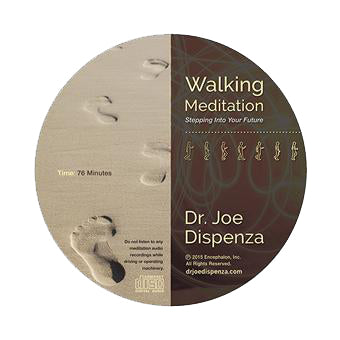Walking Meditation 1: Stepping into Your Future by Dr Joe Dispenza (Meditation CD)