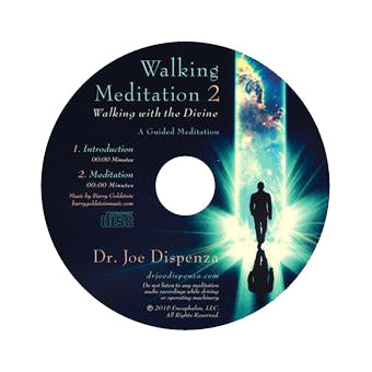 Walking Meditation 2: Walking with the Divine by Dr Joe Dispenza (Meditation CD)