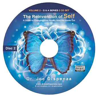 The Reinvention of Self: A Guide to Changing Your Reality from the Inside Out by Dr Joe Dispenza (Audio Lecture CD)