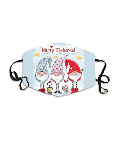 Christmas Print PM2.5 Breathable Face Mask
