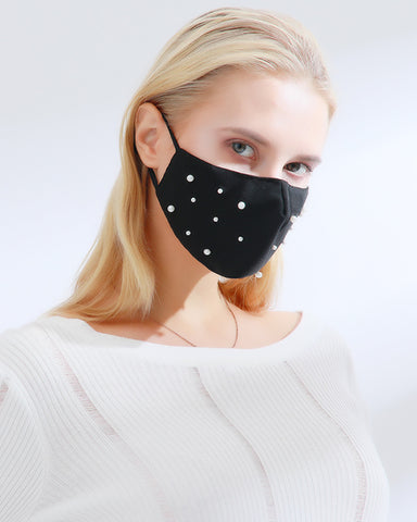 Beaded Breathable Face Mask