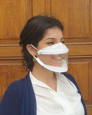 Plain Visible Anti-Fog Face Mask