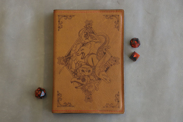 The Bestiary - A5 Notebook