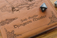 Dungeon Master - A5 Notebook