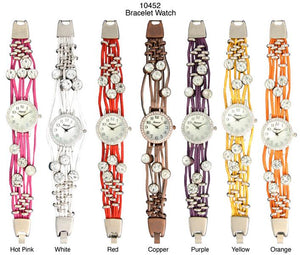 6 Geneva Bracelet Watches