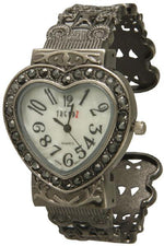 Load image into Gallery viewer, 6 marcasite cuff watches