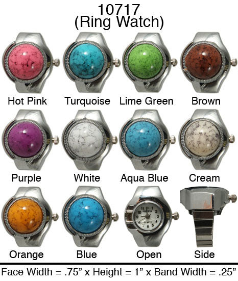 6 Ring Style Watches