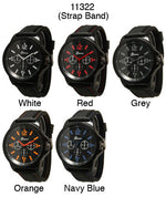 Load image into Gallery viewer, 6 Silicone Strap Band Watches