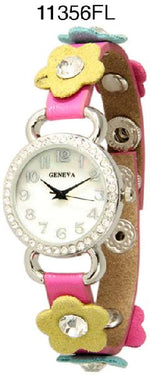 Load image into Gallery viewer, 6 Geneva Snap on Watches