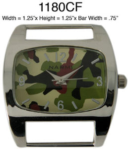 6 Solid Bar Watch Faces