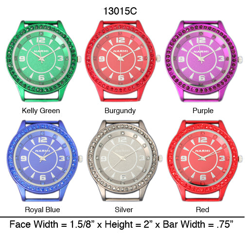 6 Narmi Aluminized Watch Faces