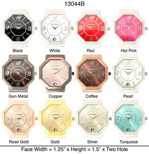 6 Two Hole Watch Faces