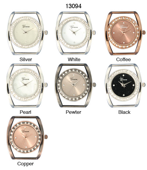 6 Geneva Solid Bar Watch Faces