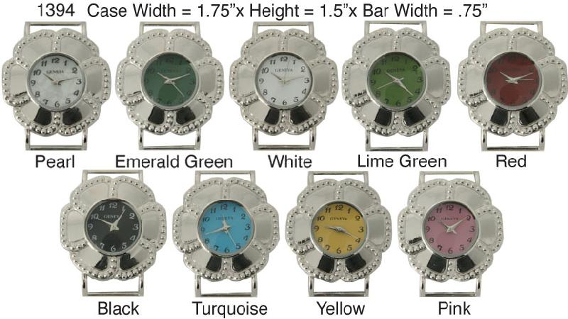 6 Round Solid Bar Solid Bar Watch Faces