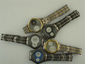 50 Assorted dual time watches