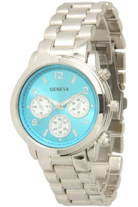 6 Geneva Closed Band Watches