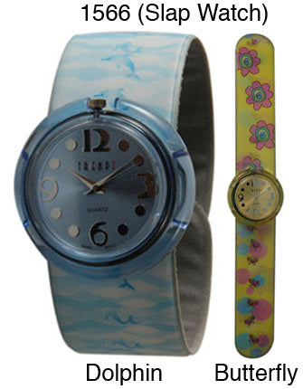 12 Kids Slap Watches