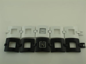 12 Square Case bracelet watches