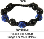 Load image into Gallery viewer, 6 Rhinestone Ball Bracelets