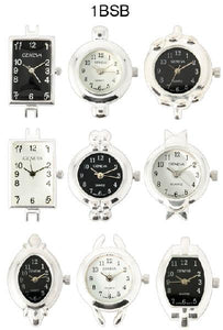50 Silver and Black Watch Faces