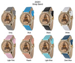 Load image into Gallery viewer, 6 Geneva Strap Band Watches
