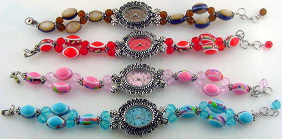 12 Womens beaded watches