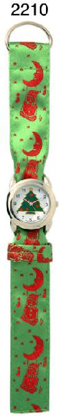 6 Christmas Ribbon Watches