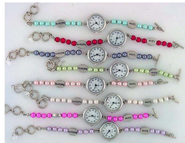 6 womens bracelet style toggle watches