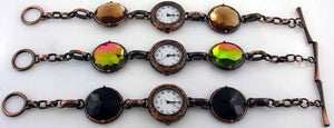 6 Womens Copper Toggle Watches