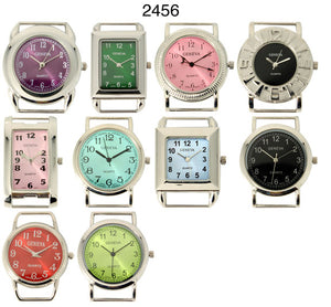 50 Assorted Solid Color bar watch faces