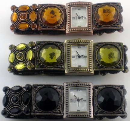 6 antique stretch watches