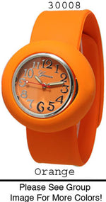 Load image into Gallery viewer, 6 Geneva Silicone Slap On Watches