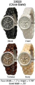 6 Geneva Ceramic Closed Band Watches
