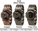 Load image into Gallery viewer, 6 Men's Biker Style Watches