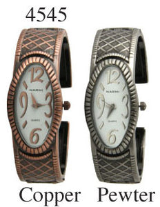 6 Geneva Womens Antique Bangles