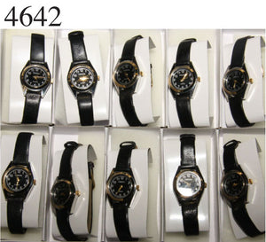 10 Womens Assorted Leather Band Watches