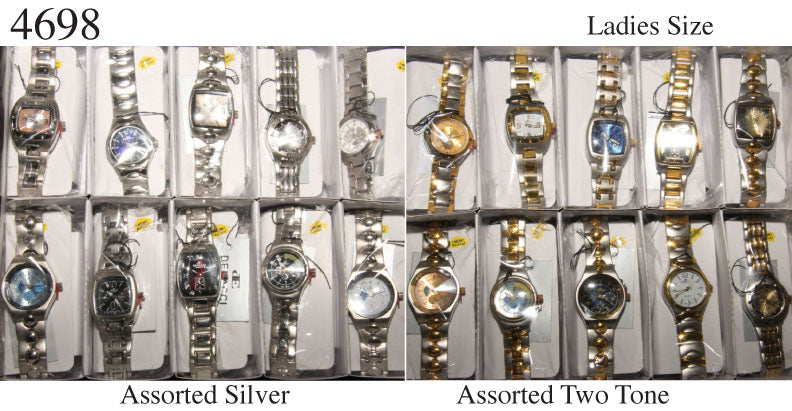 10 Womens Assorted Metal Watches