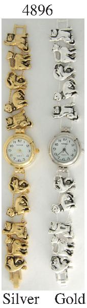 6 Women's Charm Bracelet Watch